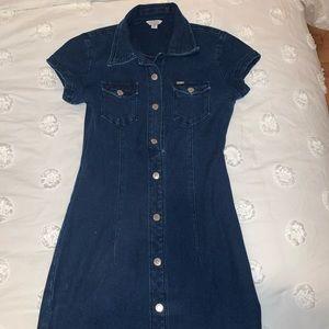 Guess jean dress